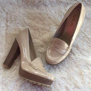 Mia Kayte nude platform heels